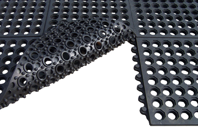 Interlocking Rubber Floor Mats