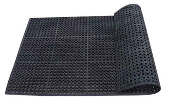 Industrial Rubber Flooring : Industrial rubber flooring tiles floor mat manufacturer